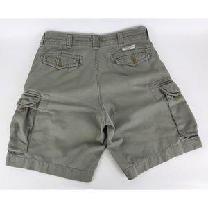 Polo Ralph Lauren Sz 36 Cargo Shorts Military